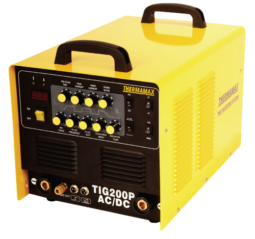 ac tig welder 200 amp general description technical description tig welding machines thermamax protig 200p digital acdc